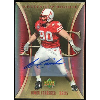 2007 Upper Deck Artifacts Rookie Autographs #151 Adam Carriker Autograph /30
