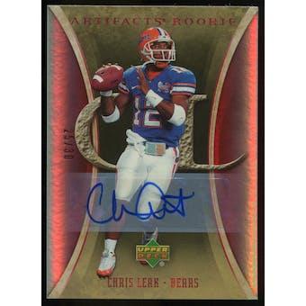 2007 Upper Deck Artifacts Rookie Autographs #164 Chris Leak Autograph /30
