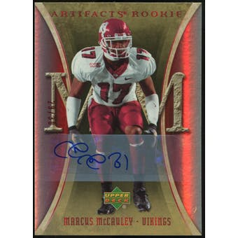 2007 Upper Deck Artifacts Rookie Autographs #186 Marcus McCauley Autograph /30