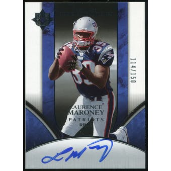 2006 Upper Deck Ultimate Collection #205 Laurence Maroney RC Autograph /150