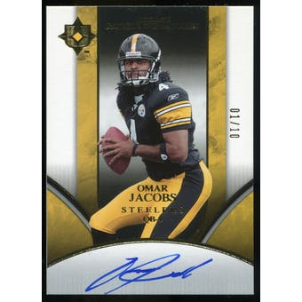 2006 Upper Deck Ultimate Collection #227 Omar Jacobs RC Autograph /150