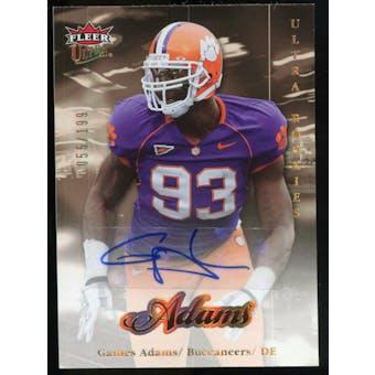 2007 Upper Deck Ultra Rookie Autographs #270 Gaines Adams Autograph /199