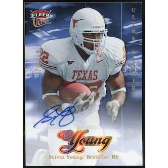 2007 Upper Deck Ultra Rookie Autographs #252 Selvin Young Autograph /199