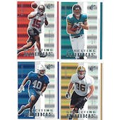 2005 Upper Deck SPX Football SPXciting Rookie Lot (66 cards)