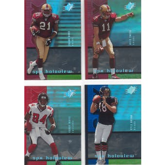 2005 Upper Deck SPX Football Holoview Rookie Lot (49 cards)