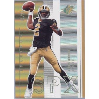 2005 Upper Deck SPX Football Spectrum #57 Aaron Brooks #1/25