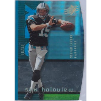 2005 Upper Deck SPX Football Holoview #HV-18 Stefan LeFors #8/10
