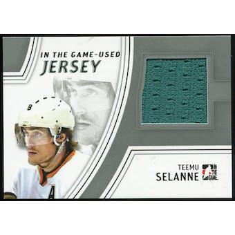 2013-14 In the Game ITG Used Jerseys Silver #GUJ21 Teemu Selanne /50