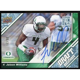 2009 Upper Deck Draft Edition Autographs Blue #29 Jaison Williams Autograph /25
