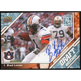 2009 Upper Deck Draft Edition Autographs Blue #131 Brad Lester Autograph /25
