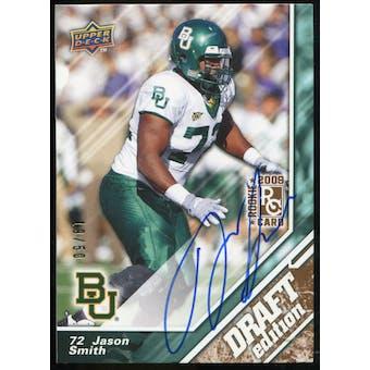 2009 Upper Deck Draft Edition Autographs Copper #9 Jason Smith Autograph /50