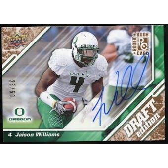 2009 Upper Deck Draft Edition Autographs Copper #29 Jaison Williams Autograph /50