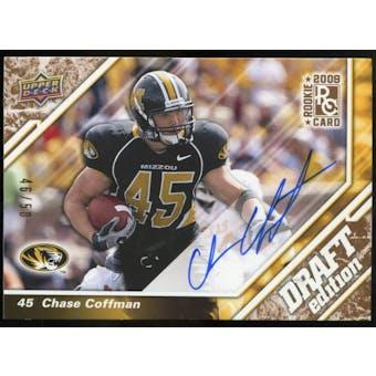 2009 Upper Deck Draft Edition Autographs Copper #33 Chase Coffman Autograph /50