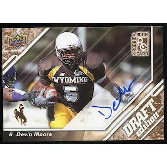 2009 Upper Deck Draft Edition Autographs Copper #79 Devin Moore Autograph /50