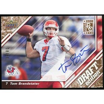 2009 Upper Deck Draft Edition Autographs Copper #94 Tom Brandstater Autograph /50