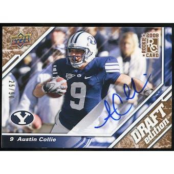 2009 Upper Deck Draft Edition Autographs Copper #137 Austin Collie Autograph /50
