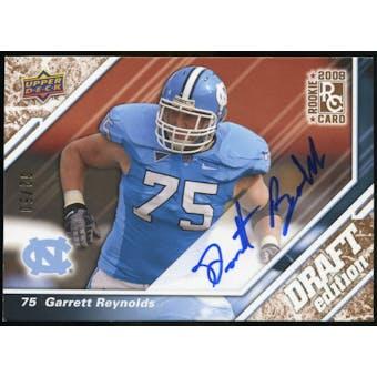 2009 Upper Deck Draft Edition Autographs Copper #138 Garrett Reynolds Autograph /50