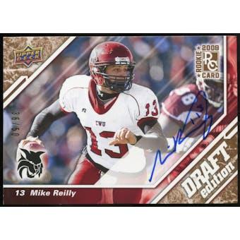 2009 Upper Deck Draft Edition Autographs Copper #144 Mike Reilly Autograph /50