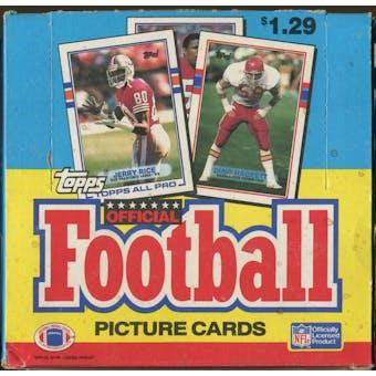 1989 Topps Football Jumbo Box