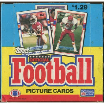 1989 Topps Football Jumbo Box