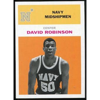 2011/12 Upper Deck Fleer Retro 1961-62 #DR3 David Robinson Orange