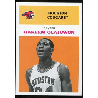 2011/12 Upper Deck Fleer Retro 1961-62 #HO3 Hakeem Olajuwon Orange