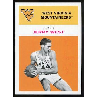2011/12 Upper Deck Fleer Retro 1961-62 #JW3 Jerry West Orange