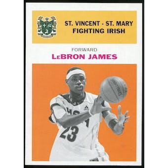 2011/12 Upper Deck Fleer Retro 1961-62 #LJ3 LeBron James Orange