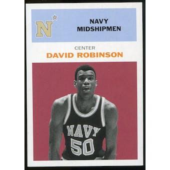 2011/12 Upper Deck Fleer Retro 1961-62 #DR2 David Robinson Dark Red