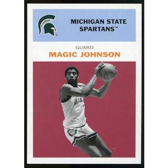 2011/12 Upper Deck Fleer Retro 1961-62 #JO2 Magic Johnson Dark Red