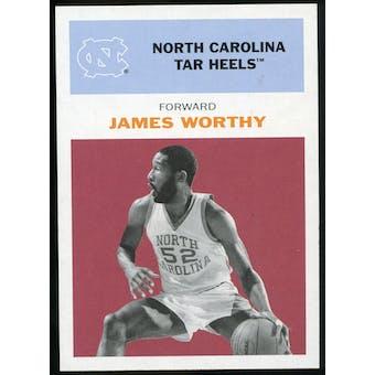 2011/12 Upper Deck Fleer Retro 1961-62 #WO2 James Worthy Dark Red