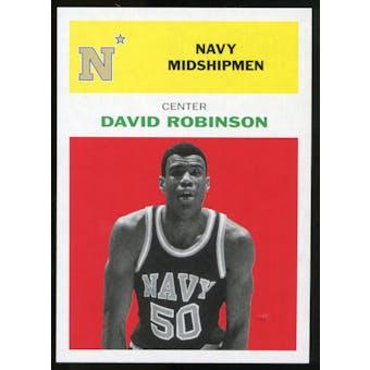 2011/12 Upper Deck Fleer Retro 1961-62 #DR1 David Robinson Bright Red