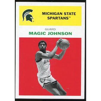 2011/12 Upper Deck Fleer Retro 1961-62 #JO1 Magic Johnson Bright Red