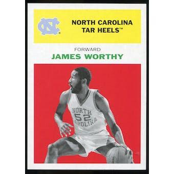 2011/12 Upper Deck Fleer Retro 1961-62 #WO1 James Worthy Bright Red