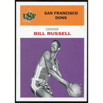 2011/12 Upper Deck Fleer Retro 1961-62 #BR4 Bill Russell Purple