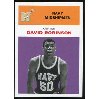 2011/12 Upper Deck Fleer Retro 1961-62 #DR4 David Robinson Purple