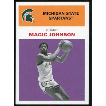 2011/12 Upper Deck Fleer Retro 1961-62 #JO4 Magic Johnson Purple
