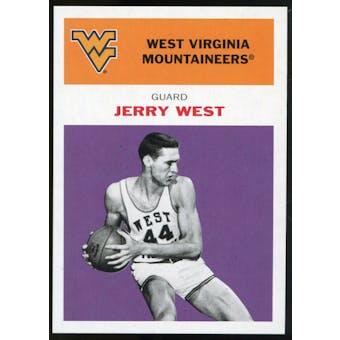 2011/12 Upper Deck Fleer Retro 1961-62 #JW4 Jerry West Purple
