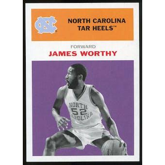2011/12 Upper Deck Fleer Retro 1961-62 #WO4 James Worthy Purple