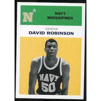 2011/12 Upper Deck Fleer Retro 1961-62 #DR5 David Robinson Yellow