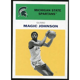 2011/12 Upper Deck Fleer Retro 1961-62 #JO5 Magic Johnson Yellow