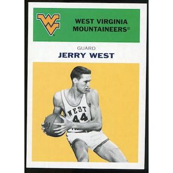 2011/12 Upper Deck Fleer Retro 1961-62 #JW5 Jerry West Yellow