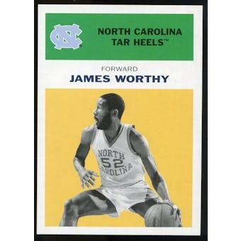 2011/12 Upper Deck Fleer Retro 1961-62 #WO5 James Worthy Yellow