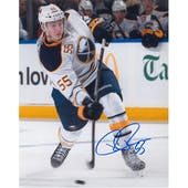 Rasmus Ristolainen Autographed Buffalo Sabres Shooting 8x10 Photo