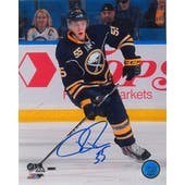Rasmus Ristolainen Autographed Buffalo Sabres Topps 8x10 Photo