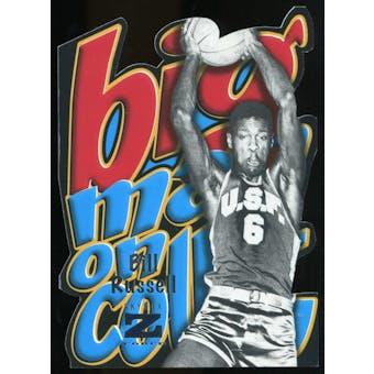 2011/12 Upper Deck Fleer Retro Big Men on Court #5 Bill Russell