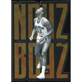 2011/12 Upper Deck Fleer Retro Noyz Boyz #25 Walt Frazier