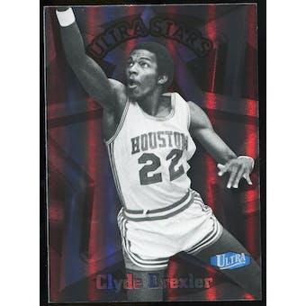 2011/12 Upper Deck Fleer Retro Ultra Stars #16 Clyde Drexler
