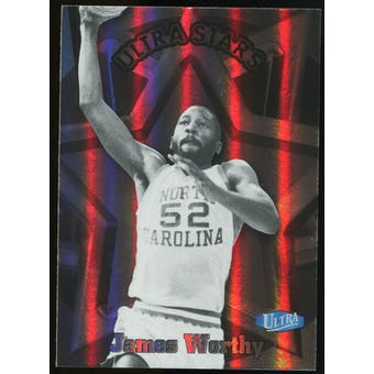 2011/12 Upper Deck Fleer Retro Ultra Stars #19 James Worthy