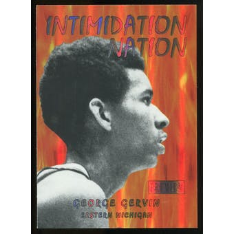 2011/12 Upper Deck Fleer Retro Intimidation Nation #2 George Gervin